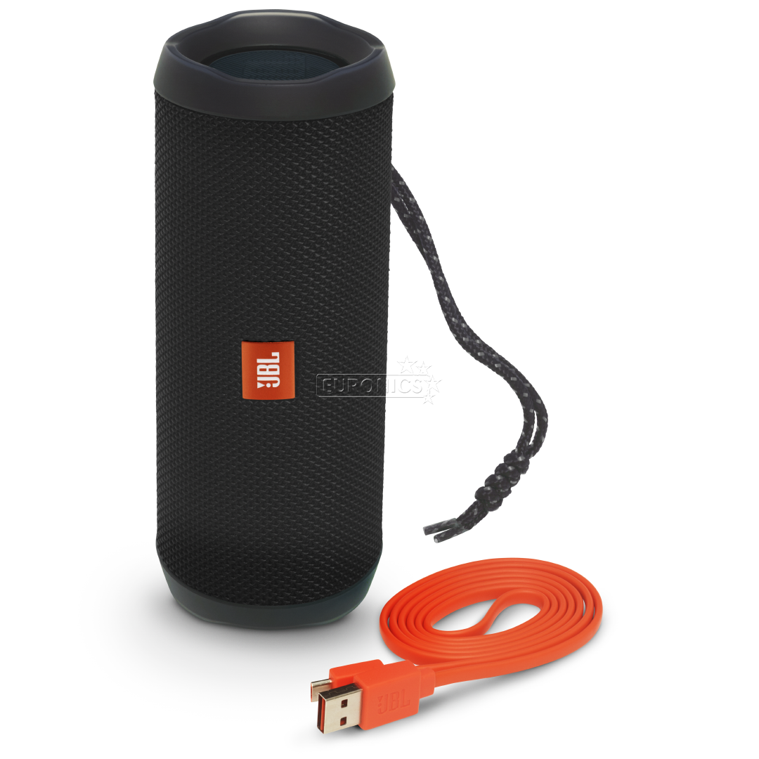 wireless portable speaker jbl flip 4 jblflip4blk