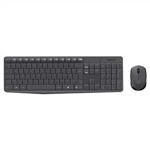Wireless keyboard + mouse Logitech MK235 (SWE)