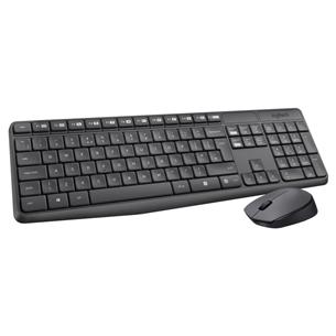 Juhtmevaba klaviatuur + hiir Logitech MK235 (SWE)