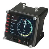 Lennusimulaatori armatuuri näidik Logitech G Saitek Pro Flight