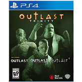 PS4 game Outlast Trinity