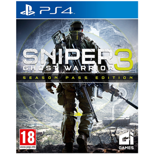 PS4 mäng Sniper Ghost Warrior 3 Season Pass Edition
