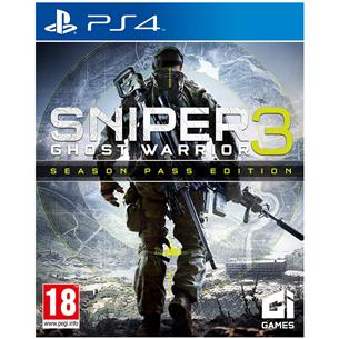 PS4 mäng Sniper Ghost Warrior 3 Season Pass Edition