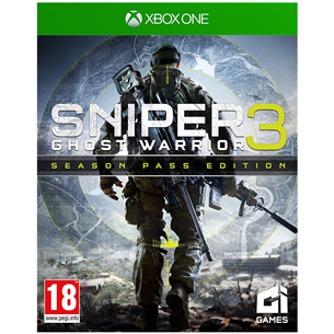 Xbox One mäng Sniper Ghost Warrior 3 Season Pass Edition