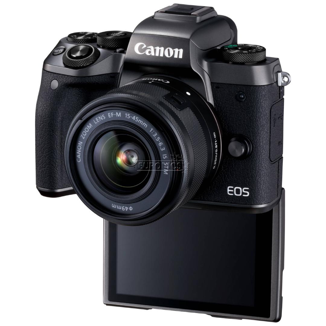 Hybrid kaamera Canon EOS M5 + 15-45mm IS STM lens
