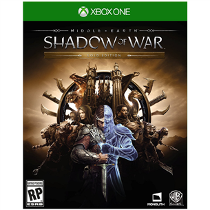 Xbox One mäng Middle-Earth: Shadow of War Gold Edition