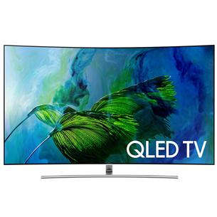 65 nõgus Ultra HD QLED-teler Samsung