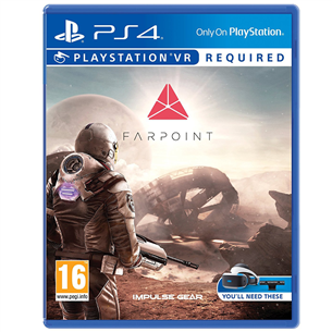 PS4 VR mäng Farpoint