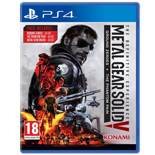 PS4 mäng Metal Gear Solid V: The Definitive Experience
