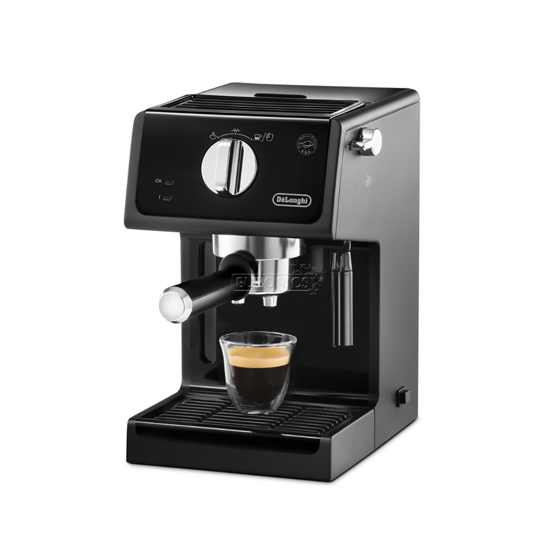 espresso machine delonghi. Black Bedroom Furniture Sets. Home Design Ideas