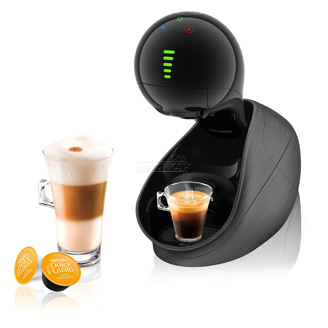 capsule coffee machine movenza nescafe dolce gusto krups kp6008pl. Black Bedroom Furniture Sets. Home Design Ideas
