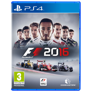 PS4 mäng F1 2016