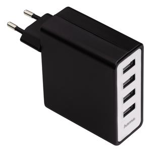 Laadimisadapter Hama Auto-Detect / 4x USB