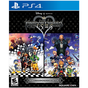 PS4 mäng Kingdom Hearts HD 1.5 + 2.5 ReMIX