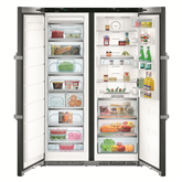 Refrigerator Side-by-Side Premium BioFresh NoFrost, Liebherr / height: 185 cm