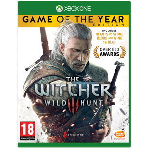 Xbox One mäng Witcher 3 Game of the Year Edition