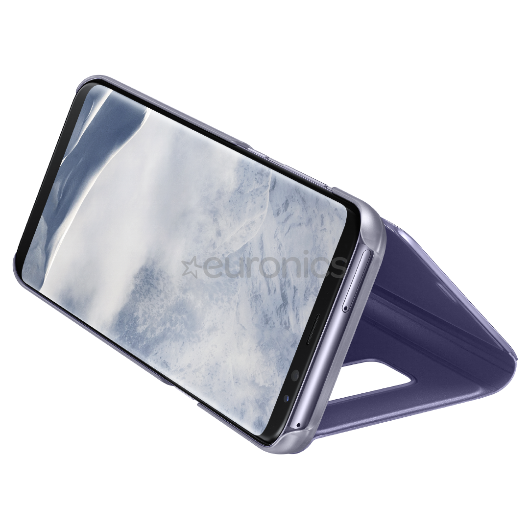 low priced 39e5c 9a98b Samsung Galaxy S8+ Clear View Standing Cover