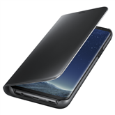Samsung Galaxy S8+ kaaned Clear View Standing Cover