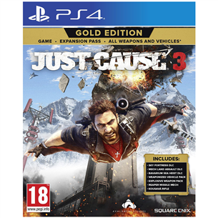PS4 mäng Just Cause 3 Gold Edition