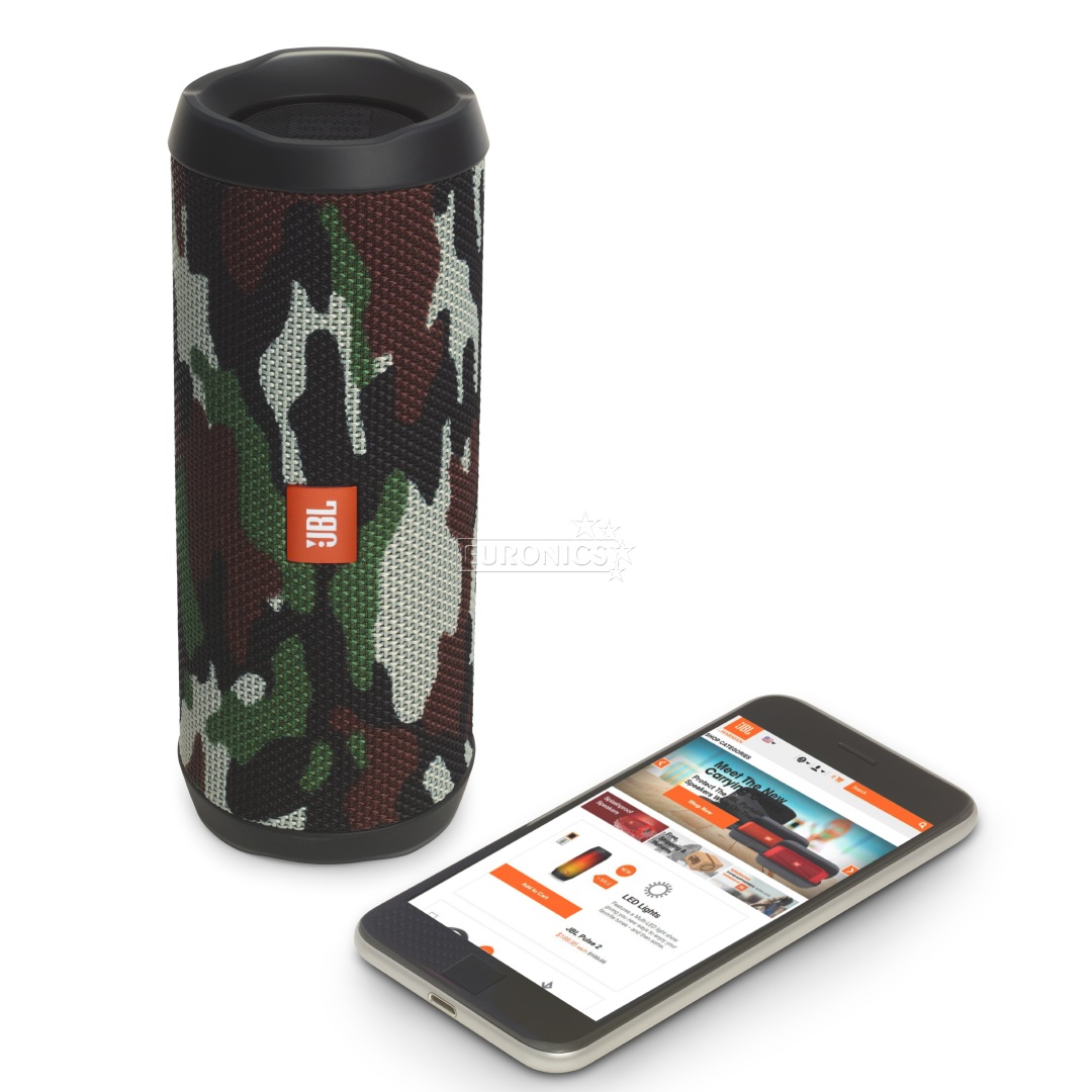Wireless portable speaker jbl flip 4 jblflip4squad for Housse jbl flip 4