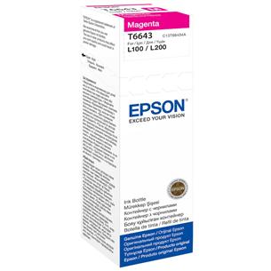Tindimahuti täitepudel Epson T6643 / magenta