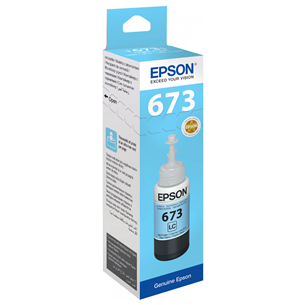 Ink bottle Epson T6735 / light cyan