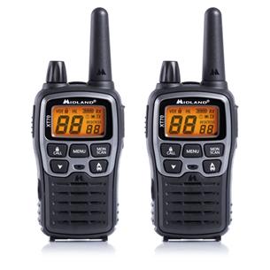 Two-way radios Midland XT70 + 2 headsets MA21L XT70