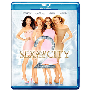 Blu-ray film Sex and the City 2