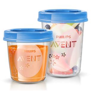 Beebitoidu hoiustamise komplekt Philips Avent