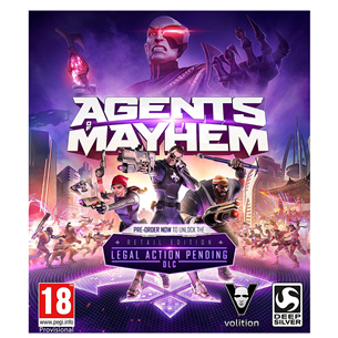 Arvutimäng Agents of Mayhem Day One Edition