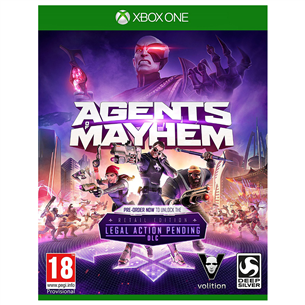 Xbox One mäng Agents of Mayhem Day One Edition