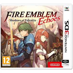 3DS mäng Fire Emblem Echoes: Shadows of Valentia