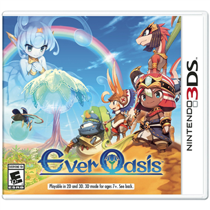 3DS mäng Ever Oasis
