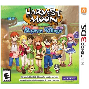 3DS mäng Harvest Moon: Skytree Village
