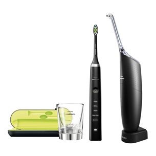 Электрическая зубная щетка Philips Diamond Clean + ирригатор Sonicare AirFloss Ultra HX8491/03