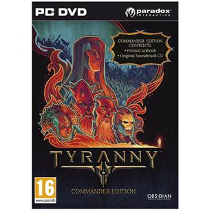Arvutimäng Tyranny Commander Edition