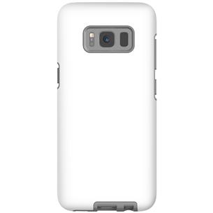 Матовый чехол с заказным дизайном для Galaxy S8 / Tough