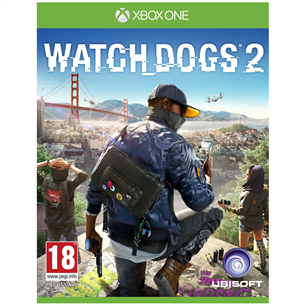 Xbox One mäng Watch Dogs 2 3307215966853