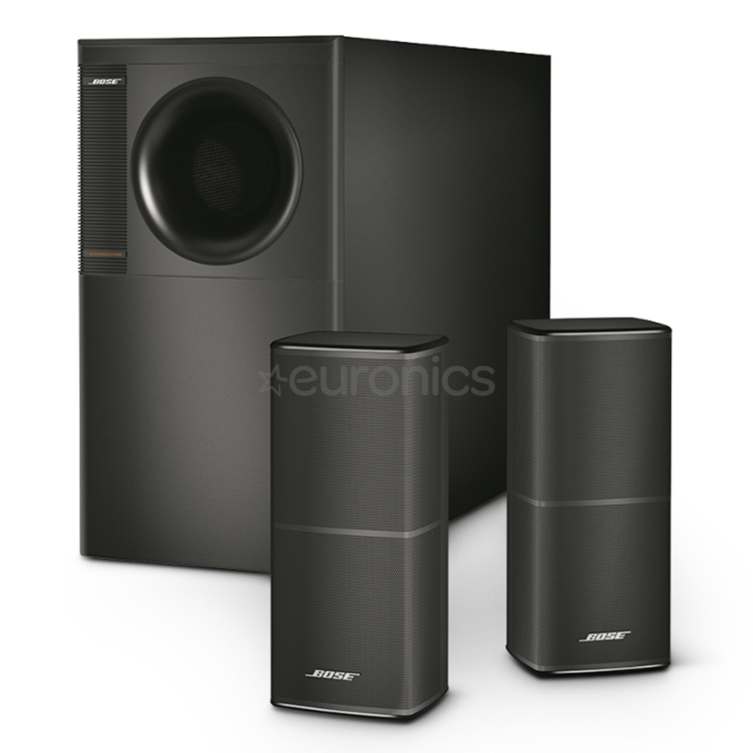 2 1 stereo speaker system bose acoustimass 5v 741131 0100. Black Bedroom Furniture Sets. Home Design Ideas