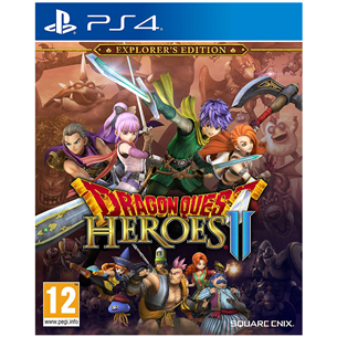 PS4 mäng Dragon Quest Heroes II Explorers Edition