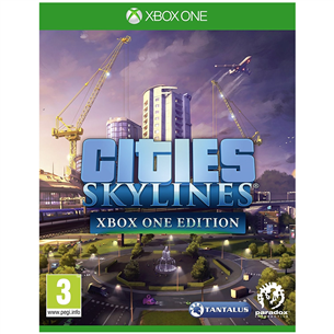 Xbox One mäng Cities: Skylines