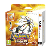 3DS mäng Pokemon Sun Fan Edition