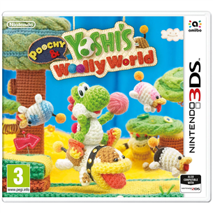 3DS mäng Poochy & Yoshis Woolly World