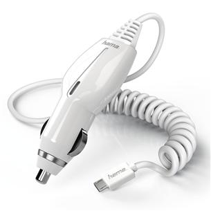 Autolaadija Micro USB Hama