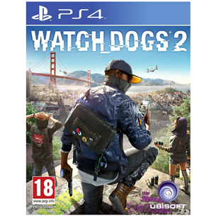 PS4 game Watch Dogs 2 3307215966648