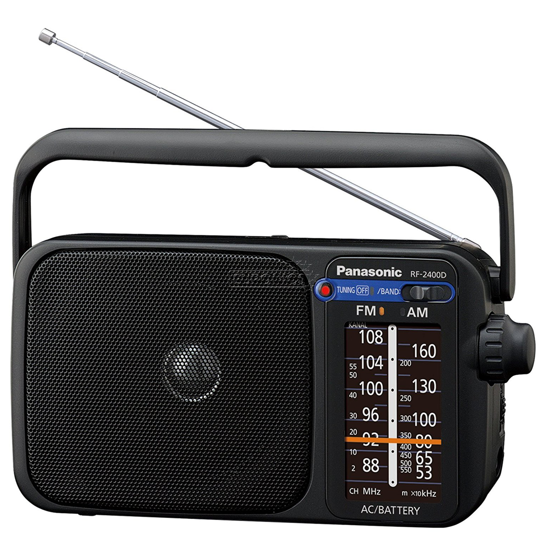 Radio with digital tuner Panasonic, RF-2400DEG-K on