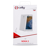 Чехол  Celly Gelskin для Nokia 3