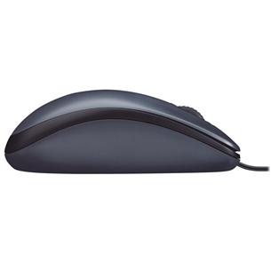Оптическая мышь M100, Logitech / серая