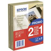 Fotopaber Epson Premium Glossy 10x15, 255 g/m²