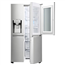 SBS külmik LG / kõrgus: 179 cm